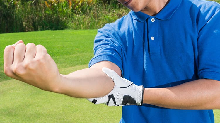 Golfers Elbow Treatment at Caterham Chiropractic Clinic in Surrey